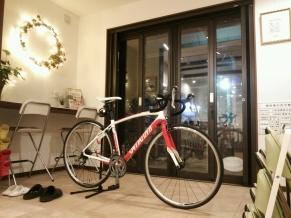131122冬の自転車