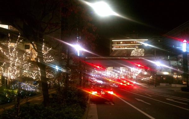 二子玉川駅前 20131126_225709.741