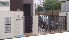 杉並区A様邸 門周りS.BOX