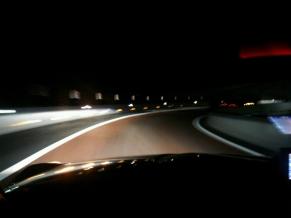 140328夜中の圏央道