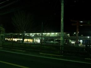 140328夜中の高尾山口