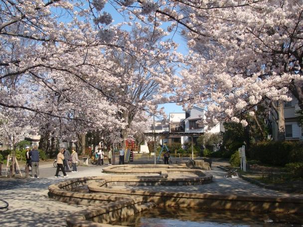 経堂 石仏公園