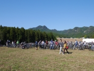 会場自転車P