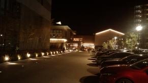 170113綱島温泉駐車場