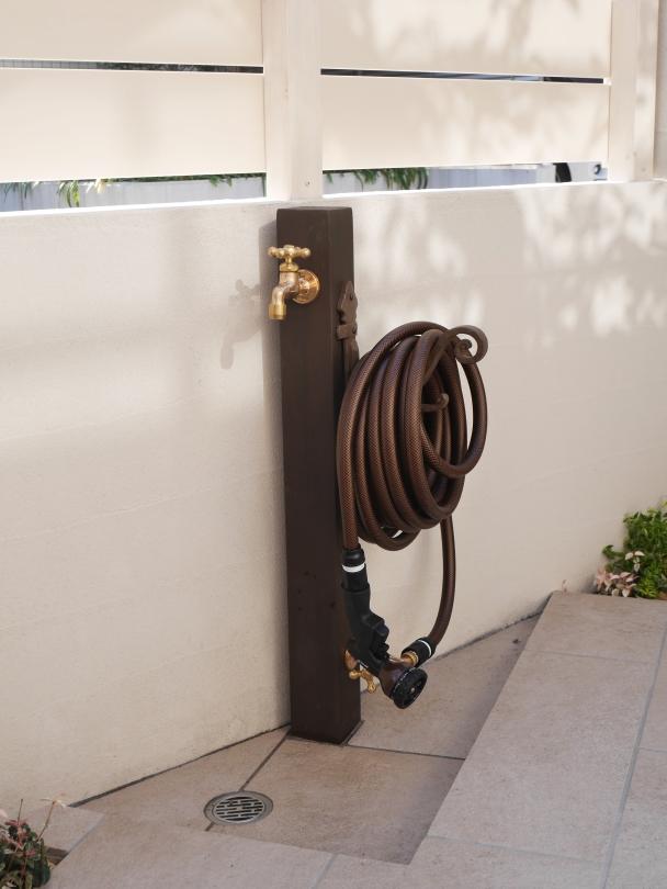 O様邸 立水栓2