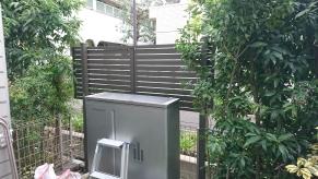 狛江市 フェンス