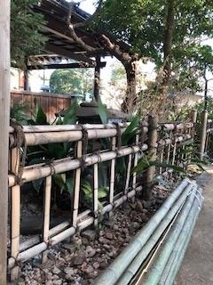 金閣寺垣 前2